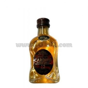 Miniatura Whisky Cardhu Single Malt 12 años