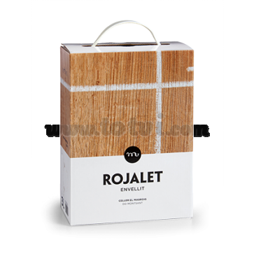 Bag in Box Rojalet Envellit 3lts - Celler Masroig