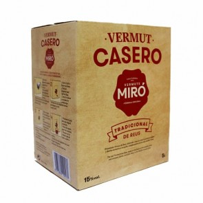 Bag in box Vermouth Miró Casero 5lts