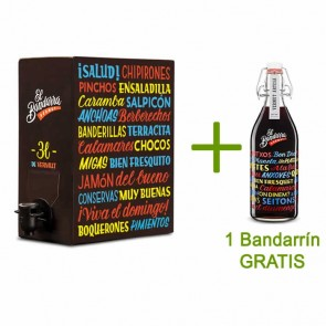 Bag in Box Vermut El Bandarra 3 lts + 1 ampolla regal