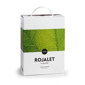 Bag in box Rojalet Blanc 3lts - Celler Masroig
